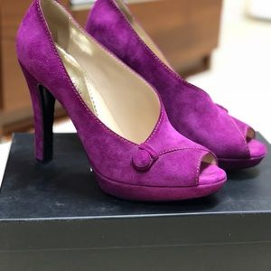 Emporio Armani Fuxia Shoes